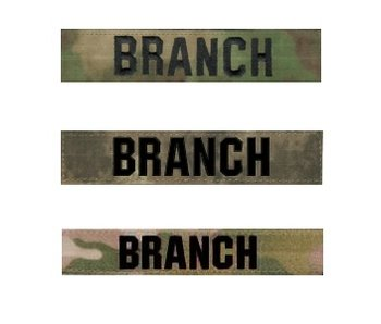 Combatshop Custom Name Tape Multicam