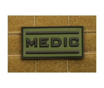 PVC Patch  Black Medic patch, OD