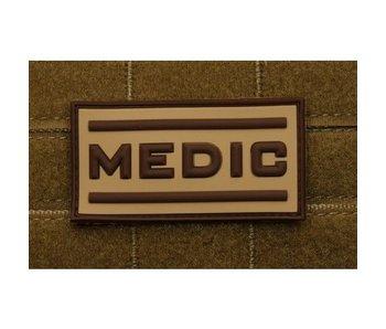 PVC Patch  Black Medic patch, TAN