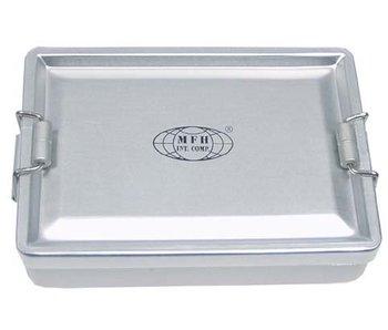 MFH Aluminium box, waterdicht zilver