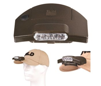Fosco Clip-on Hoofdlamp - 5 Led