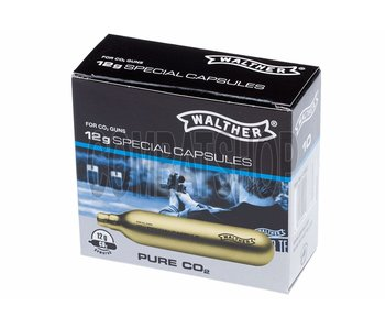 Walther Pure Co2 Capsules 12g (10 stuks)