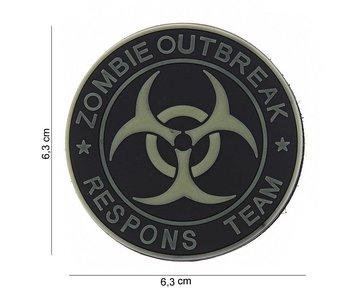 101Inc. PVC Patch  Zombie Outbreak SWAT