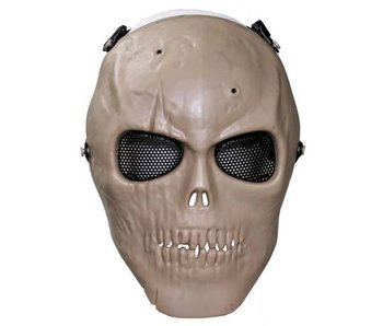 MFH Airsoft Skull mask - Coyote