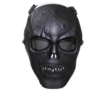 MFH Airsoft Skull mask - Black