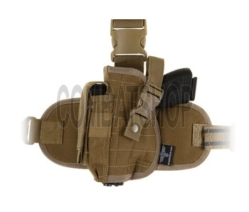 Invader Gear Dropleg Holster Coyote Brown Left