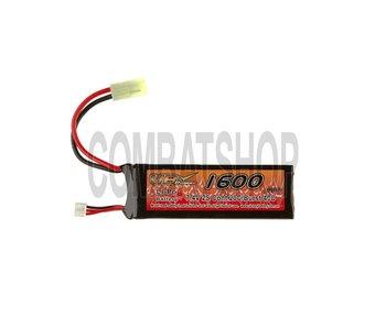 VB Lipo 7.4V 1600mAh 20C Mini Type