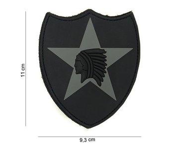 101Inc. PVC Patch  2nd Infantry