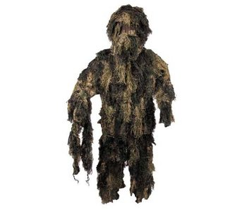 MFH Ghillie Suit - Woodland