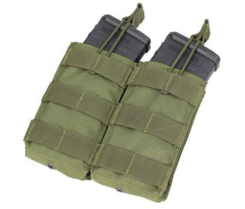 Condor Double Open-Top M4 Mag Pouch Olive Drab (OD)