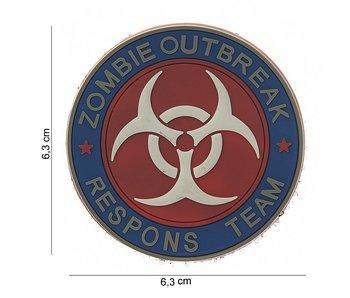 101Inc. PVC Patch  Zombie Outbreak Fullcolor