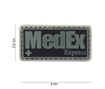 101Inc. PVC Patch  MedEx Grijs