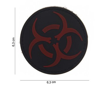 101Inc. PVC Patch  Resident Evil Rood