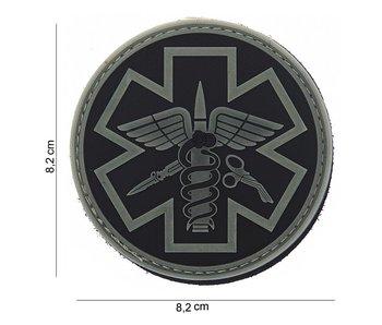 101Inc. PVC Patch  Para Medic Grijs