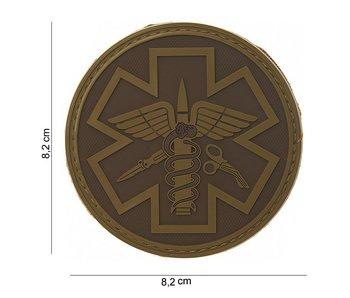 101Inc. PVC Patch  Para Medic TAN