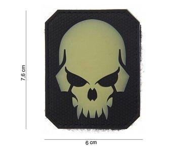 101Inc. PVC Patch  Pirate Skull SWAT