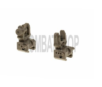 CAA Tactical Low Profile Sight Set FDE