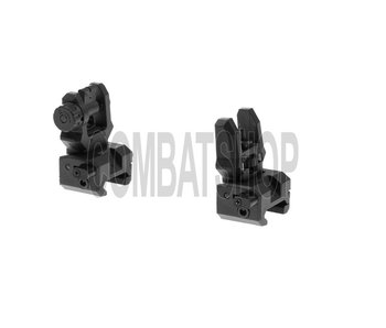 CAA Tactical Low Profile Sight Set Black