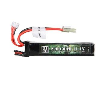 101Inc. LI-PO Batterij 11.1V 2200Mah Butterfly Duo