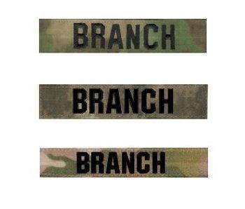 Combatshop Custom Name Tape Coyote/TAN