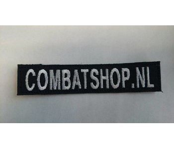 Combatshop Custom Name Tape Zwart