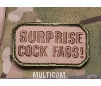 Cock Fags patch, multicam