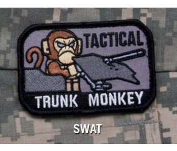 Mil-Spec Monkey Tactical Trunk Moneky patch, swat