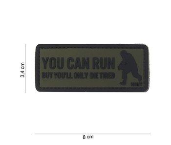 101Inc. PVC You Can Run Groen Patch