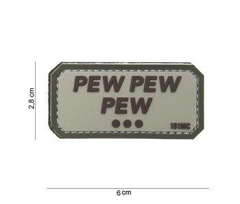 101Inc. PVC Pew Pew Pew Beige