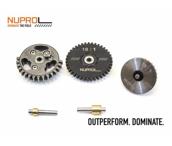 WE NUPROL 18:1 Gear set
