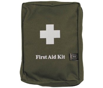 MFH First-Aid set, Groot, Olive Drab, Molle, 18x12x7cm
