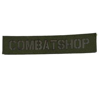 Combatshop Nametape Lasercutted Olive Drap (OD)