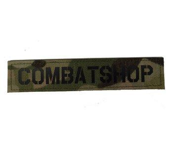 Combatshop Nametape Lasercutted Multicam