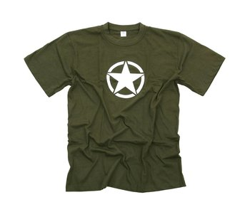 Fostex T-Shirt US ARMY - Groen / Zwart