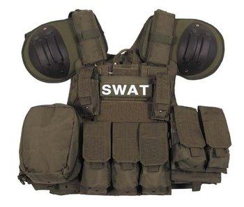 MFH SWAT Riot Vest Olive Drab (OD)