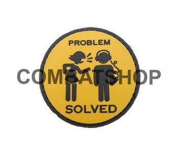 """PVC Patch """"Problem Solved"""""""
