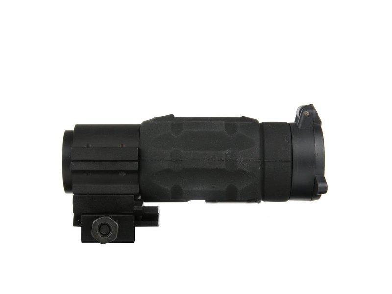 101Inc. AP Style 3X Magnifier QD Twist Mount Black