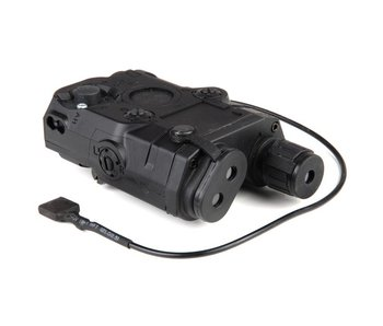 Battle Axe PEQ15 Battery Box Black, Red Laser, Wired