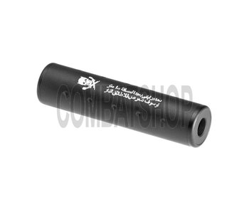 Pirate Arms 130x35 Stubby Silencer CW/CCW Black