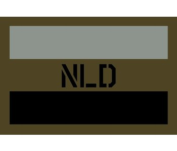 NLD PATCH LASER Olive Drab (OD) V2