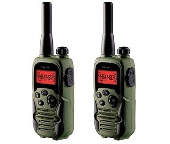Topcom 9500 Twin Talker Porto Set inklusive 2x PTT