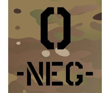 Blood Typ O-NEG- Multicam