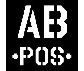 Blood Typ AB -POS- Black