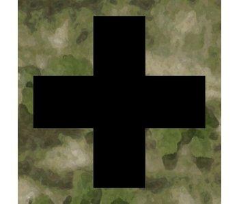 Medic Patch Black Cross ATACS FG