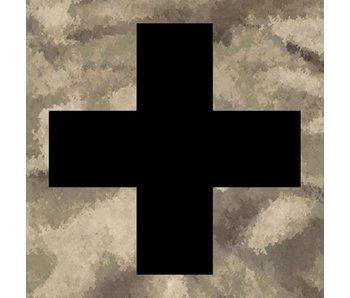 Medic Patch Black Cross ATACS AU