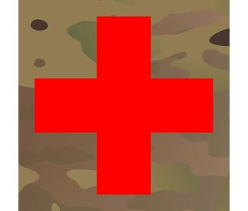 Medic Patch Red Cross Multicam