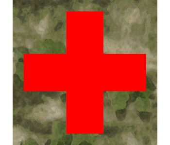 Medic Patch Red Cross ATACS FG