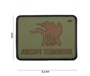 101Inc. PVC Airsoft Teamwork Green