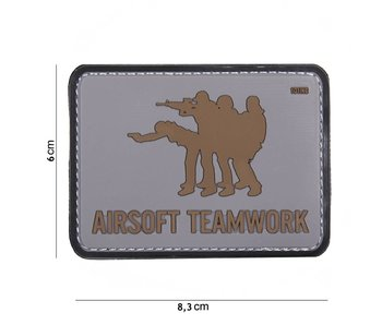 101Inc. PVC Airsoft Teamwork Grey