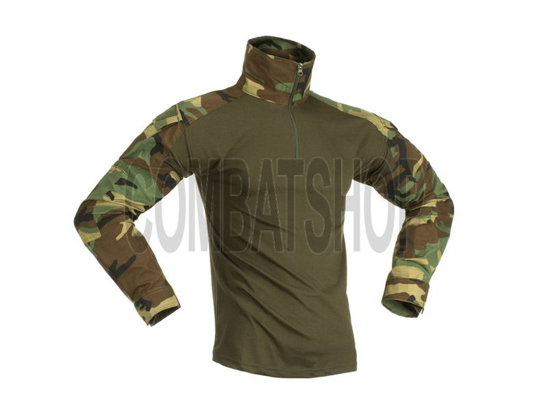 Invader Gear Combat Shirt Woodland